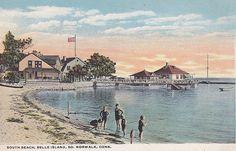 South Beach, Belle Island, So. Norwalk, Conn.