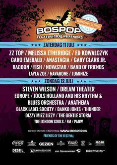 JULY 11TH - 12TH #bospop 2015 #weert