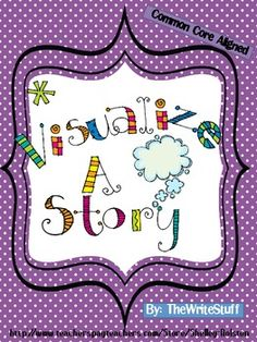 Visualize a Story- FREEBIE (CCSS) - Love this!!