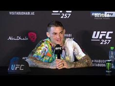 UFC 257: Dustin Poirier Post-fight Press Conference - YouTube