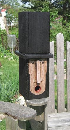 Abe Lincoln Birdhouse by Tim Campbell on Etsy, Sold