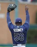 Fernando Rodney, Tampa Bay Rays--love him :)