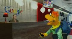 From The Muppets movie..love that Scooter works at Google.