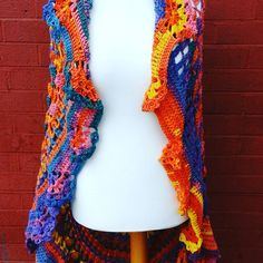 Hey, I found this really awesome Etsy listing at https://www.etsy.com/uk/listing/294676715/crocheted-boho-bohemian-long-sleeveless