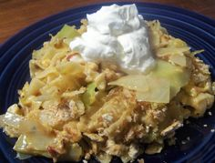 A Pennsylvania favorite. If you like cabbage and noodles, you should love this casserole! The cracker topping gives it a nice crunch!