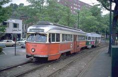 #MBTA Green Line, 1950s-90s