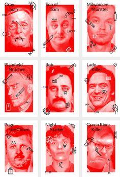 this isn't happiness™ (Serial Killer playing cards), Peteski
