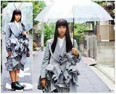 Japanese Fashion Designers, Raincoat, Jackets, Rain Jacket, Down Jackets, Jacket