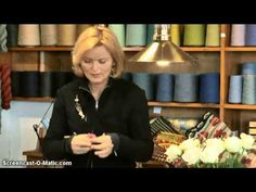 Oprulning af garn til mønsterstrik strikkekit med Christel Seyfarth Del 2 af 2 - YouTube