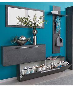 new Ideas house entrance bench entryway Entryway Shoe Storage, Entryway Mirror, Shoe Storage Cabinet, Entryway Hooks, Bench Storage, Storage Ideas, Storage Mirror, Storage Design, Home Entrance Decor