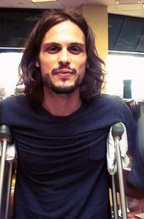 Oh, hey. | Why Matthew Gray Gubler Is The Nerd Of Your Dreams Yum! love him with his long hair and sexy facial hair. Ugh Yum!!!