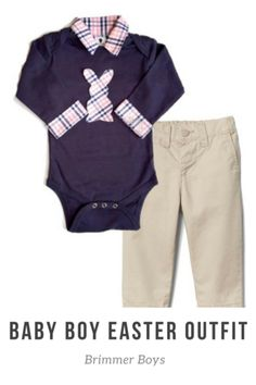 c76975075b6c Baby Easter Outfit - Baby s First Easter Shirt - Baby Boy Easter ...