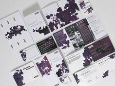 Corporate Design in Purple