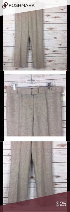 NEW DKNY Women's Herringbone Career Pants Sz 10 NEW DKNY Donna Karan Women's Herringbone Career Metallic Slacks Pants Sz 10. Waist 16 Inseam 31.5. Dazzle them at Work or on the town with these sophisticated NEW Career Pants from Donna Karan you know DKNY. DKNY Pants Trousers