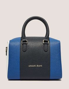 blue Armani Jeans Small Cross Body Bag