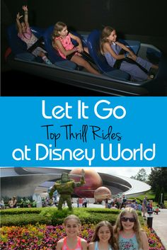 Let It Go...Really Fast! Surveying the top thrill rides at Walt Disney World sure to please the adrenaline junkie in your family during your next Disney vacation.