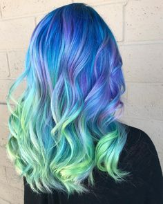 "196 Likes, 11 Comments - Los Angeles Hairstylist (@honeyhousehair) on Instagram: ""ELECTRIC ACID MELT ⚡️⚡️ #honeyhousehair #pulpriothair #btcpics #hotonbeauty @behindthechair_com…"" #Regram via @honeyhousehair"