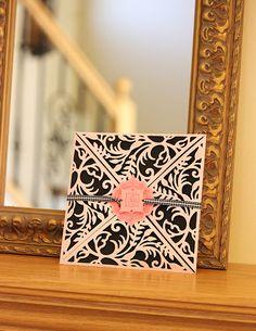 Samantha Walker's Imaginary World: Sneak Peek: Spellbinders™ Summer Spectacular Day 4  -- Just love Samantha's card wrap!!