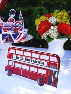 printable party kit Rule Britannia Jubilee
