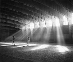 Alvar Aalto 1949–1952: Sport hall for the Helsinki university of Technology in Otaniemi, Espoo. Photo Heikki Havas / Alvar Aalto Museum.