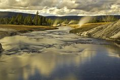 Image detail for -Firehole River, Yellowstone, Yellowstone National Park, Upper Geyser ...