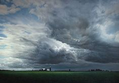 Passing Storm  by Frits Hoendervanger