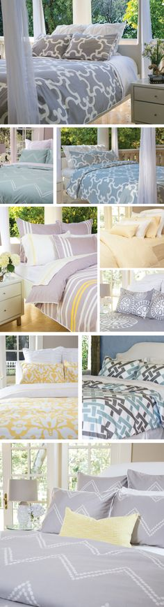 Designer bedding, duvet covers and sheets without the department store markup. As seen on the Today Show.