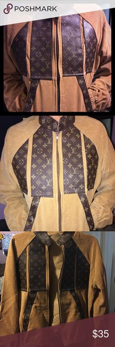 Vintage LV jacket. Found this amazing jacket at thrift store. Unisex jacket. Has no tags. Excellent condition never used myself. Louis Vuitton Jackets & Coats