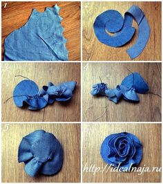 Best 12 This listing is for 6 upcycled denim flowers. - Best 12 This listing is for 6 upcycled denim flowers. Choose from 2 and inches, 3 inches, or 4 inches. The – SkillOfKing. Flower Jeans, Denim Flowers, Cloth Flowers, Fabric Roses, Flower Fabric, Fresh Flowers, Jean Crafts, Denim Crafts, Artisanats Denim