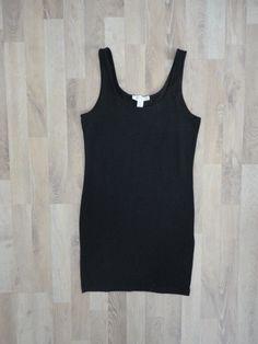 Vestido de algodón y lycra negro #Forever21 Compra esta prenda online! www.saveweb.com.ar