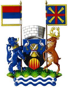 Pećinci Municipality (No. 107), Serbia (Area 489 Km²) Srem District #Pećinci #Srem #Serbia (L11689)