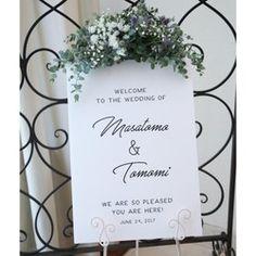 ウェルカムボード │結婚式 ウェディング