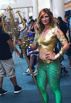 "Female Aquaman #Rule63 #cosplay -- ""All The Best 2014 Comic-Con Cosplay We Haven't Shown You (Yet)"""
