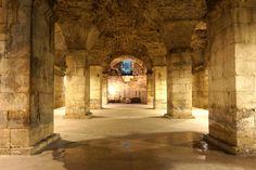 Diocletian's cellars, Split (photo by: Dennis Jarvis - Flickr)