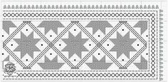 hardanger linning 07 – Vevstua Bull-Sveen Hardanger Embroidery, Paper Snowflakes, Bargello, Norway, Daddy, Weaving, Hello Kitty, Pattern, Cotton