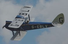 De Havilland Cirrus Moth G - EBLV - Royal Air Force - trainer - World War 2
