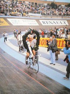 Not very aero. vintage cycling cvc track cycling velodrome fixie aero