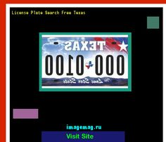 License plate search free texas 160345 - The Best Image Search