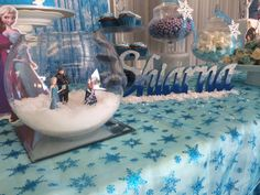 Frozen Cake Kids Party Space Frozen Pinterest Cake kids