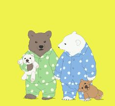 "heartswept-archive: "" ""Well, Grizzly and I are childhood friends. Polar Bear Cafe, Polar Bears, Panda Art, Fuzzy Wuzzy, We Bare Bears, Love Bear, Bear Art, Childhood Friends, Love Movie"