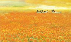 tekeningen van kinderwc's   Zonnebloemenzee - Damespraatjes