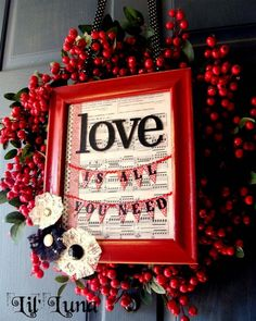 Valentine's Day Decorating Ideas for 2013 #valentinesday #valentinesideas