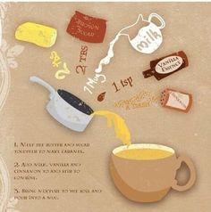 Harry potter butter beer recipe