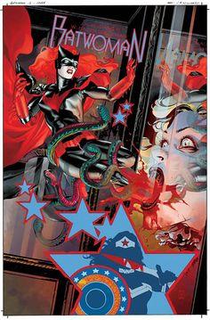 El arte de las últimas historias de Batwoman es una pasada.