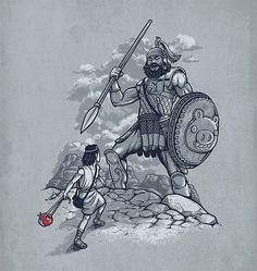 El arma secreta de David  // No solo venció a Golliat con su simple onda