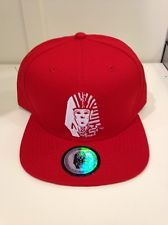 30df35ce1067f 100 AUTHENTIC official RED last kings Tyga snapback hat pink dolphin ship  intl