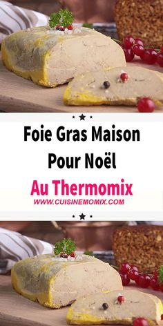 Macaron Foie Gras, Thermomix Desserts, Vinaigrette, Entrees, Menu, Food And Drink, Cooking, Breakfast, Ethnic Recipes