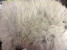 Gray Angora Rabbit Fleece