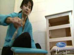 Cómo aplicar pátina blanca  con efecto decapado a los muebles