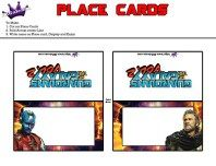 Free Guardians of the Galaxy Vol. 2 Printable Party Kit Place Cards